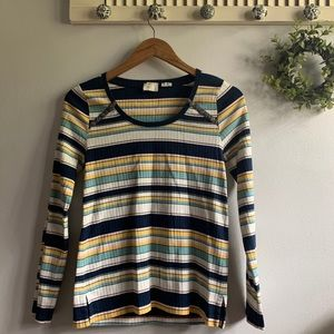 Anthropologie Postmark | Evan Striped Top